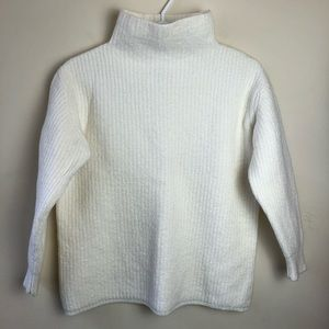 Wilfred Aritzia Size M Wool Mock Neck Sweater